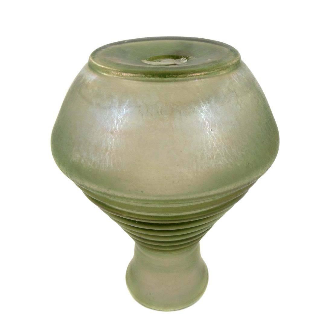 zypern glas vase der josephinenh tte um 1880 1900 ebay. Black Bedroom Furniture Sets. Home Design Ideas